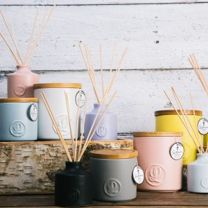 Pastel Soy Wax Candles and Diffusers