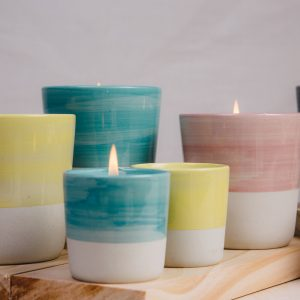 Brush Strokes Soy Wax Candles