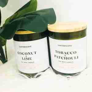 Jade Soy Wax Candles