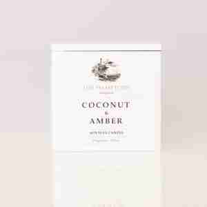 Hamptons Coconut and Amber Box Front